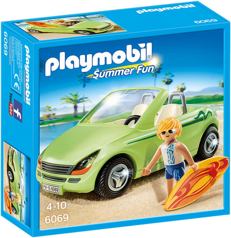 Playmobil - Surfer with Coupe - 6069 - Bunyip Toys - 1