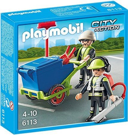 Playmobil - Cleaning Crew - 6113 - Bunyip Toys - 1