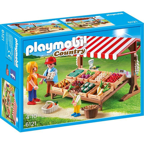 Playmobil - Vegetable Stall - 6121 - Bunyip Toys