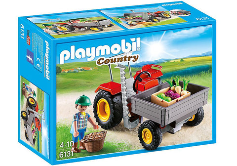 Playmobil - Small Tractor - 6131 - Bunyip Toys - 1