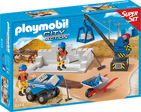 Playmobil - Construction Superset - 6144 - Bunyip Toys - 1