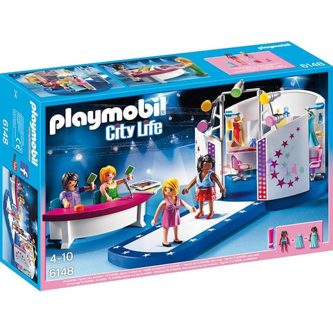 Playmobil - City Life Model Casting and Catwalk - 6148 - Bunyip Toys - 1