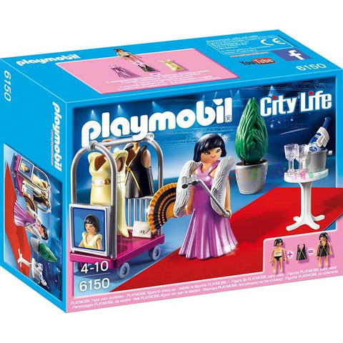 Playmobil - Evening Wear Fashion Shoot - 6150 - Bunyip Toys - 1