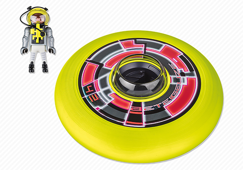 Playmobil  - Frisbee with Space Hero - 6183 - Bunyip Toys