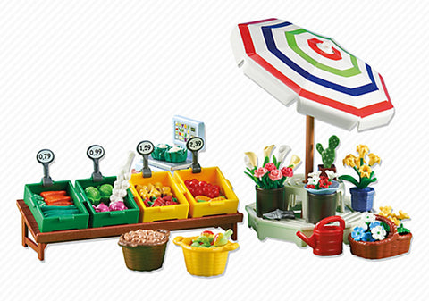 Playmobil - Fruit and Vegie Stall - 6335 - Bunyip Toys