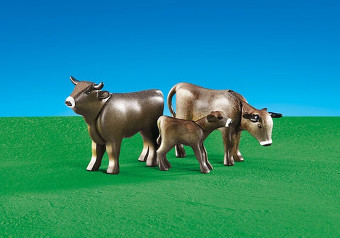 Playmobil - Brown Cows - 6357 - Bunyip Toys
