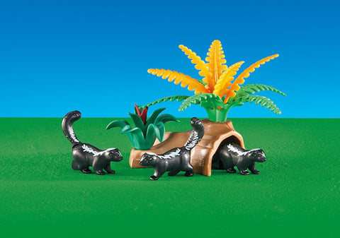 Playmobil - Skunks - 6358 - Bunyip Toys