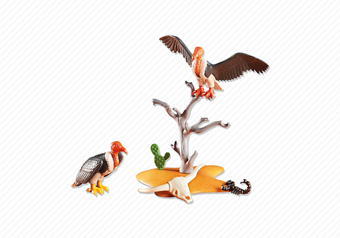 Playmobil - Two Vultures - 6362 - Bunyip Toys