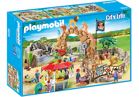 Playmobil -  Big Zoo - 6634 - Bunyip Toys - 1