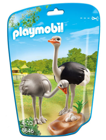 Playmobil - Ostriches - 6646 - Bunyip Toys - 1