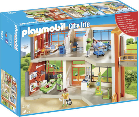 Playmobil - Children's Hospital - 6657 - Bunyip Toys