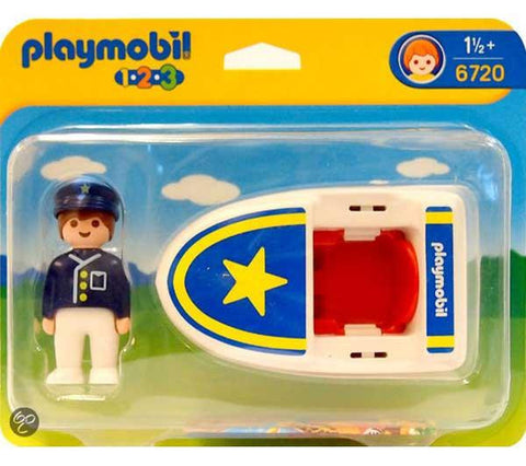 Playmobil - Rescue Boat - 6720 - Bunyip Toys