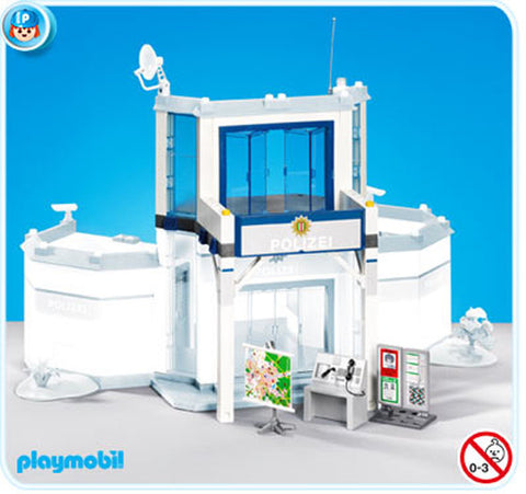 Playmobil - Police Station Extension - 7394 - Bunyip Toys