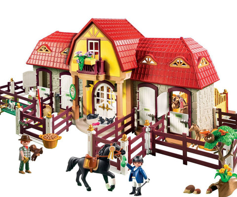 Playmobil - Large Stables - 5221 - Bunyip Toys