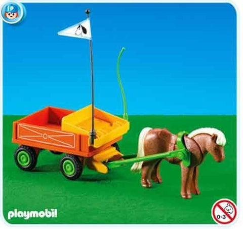Playmobil - Pony Cart - 7493 - Bunyip Toys