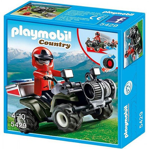 Playmobil - Alpine Rescue Bike - 5429 - Bunyip Toys - 1