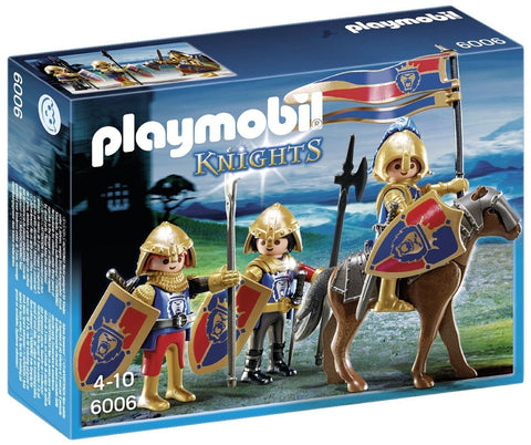 Playmobil - Lion Knight Troop - 6006 - Bunyip Toys - 1