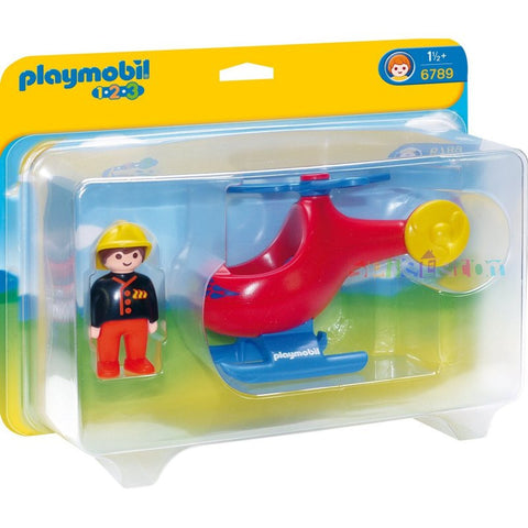 Playmobil - Fire Helicopter - 6789 - Bunyip Toys - 1