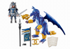 Playmobil - Ice Dragon and Warrior - 5464 - Bunyip Toys - 2