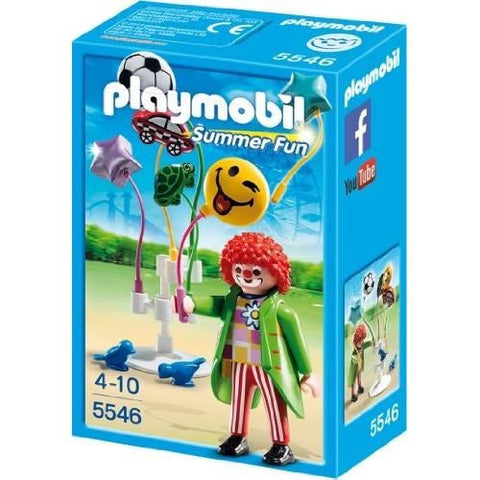 Playmobil - Balloon Sales Clown - 5546 - Bunyip Toys - 1