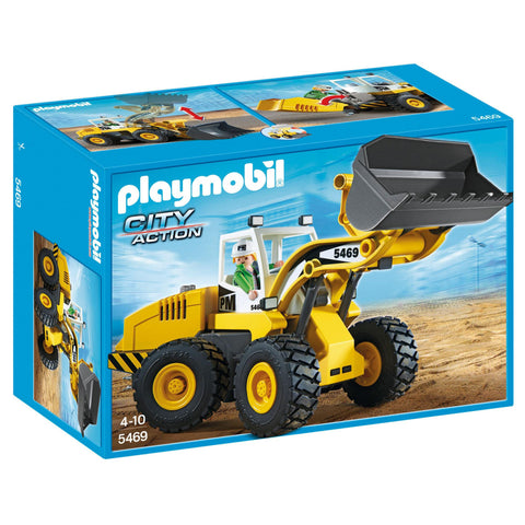 Playmobil - Front End Loader - 5469 - Bunyip Toys - 1