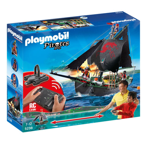 Playmobil - Remote Control Pirate Ship - 5238 - Bunyip Toys - 1