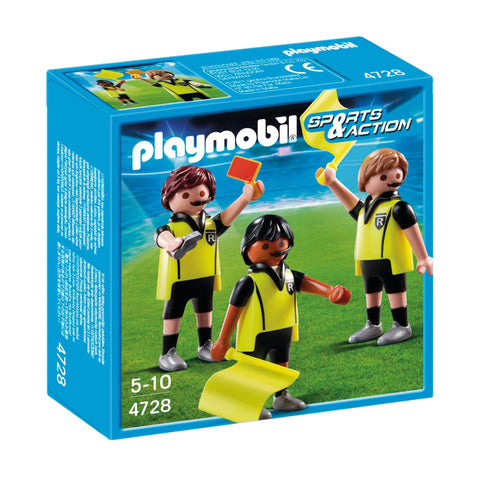 Playmobil - Soccer Referees- 4728 - Bunyip Toys - 1