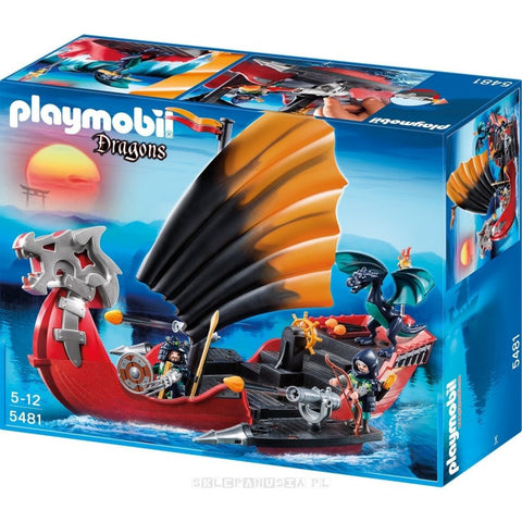 Playmobil - Dragon Battle Ship - 5481 - Bunyip Toys - 1