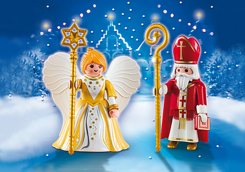 Playmobil - Saint Nicholas and Angel - 5592 - Bunyip Toys