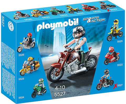 Playmobil - Muscle Bike - 5527 - Bunyip Toys - 1