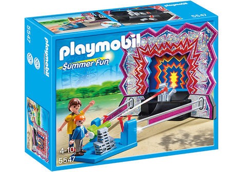 Playmobil - Tin Can Shooting Booth - 5547 - Bunyip Toys - 1