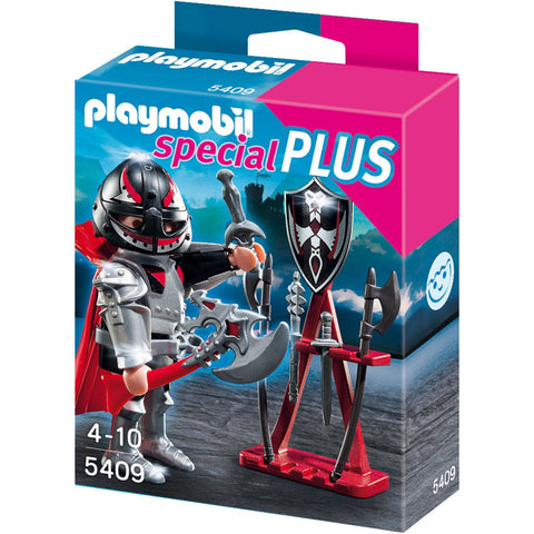 Playmobil - Armoured Knight With Weapons - 5409 - Bunyip Toys - 1