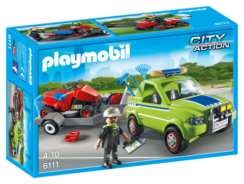 Playmobil - Lawn Mowing Service - 6111 - Bunyip Toys