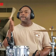 La BackBeat drummer Gerard St. Julien Jr