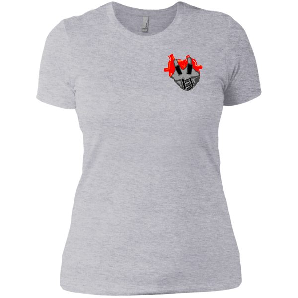 Teflon Over Heart Ladies Tee