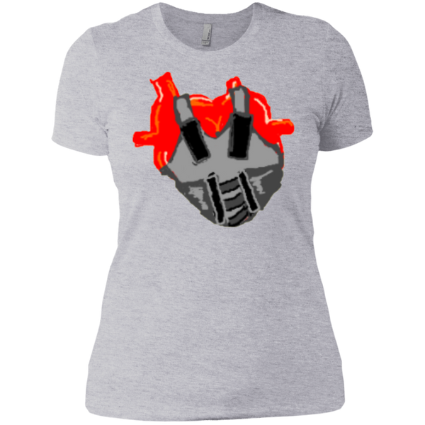 Teflon Heart Ladies Tee