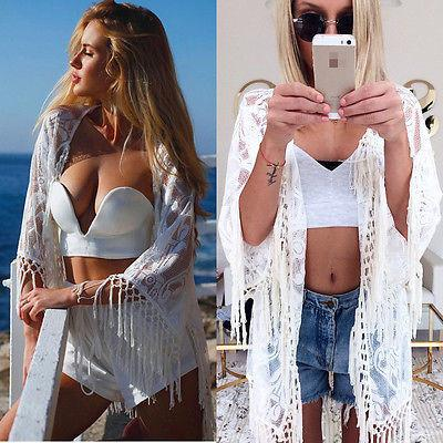 2b78b36b8444d White Fringe Cardigan Beach Cover Up – Wine Stained Blouse