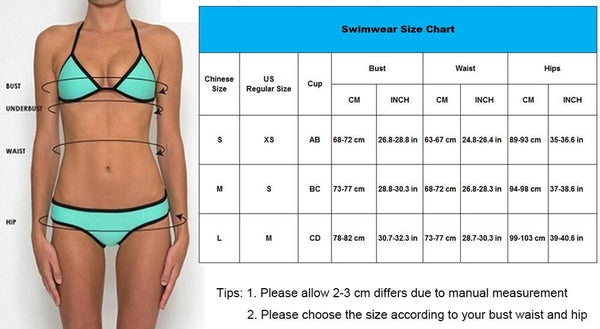 High Waisted Bottom Bikini Swimsuit