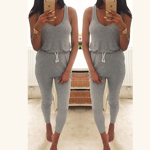 Casual Summer Jumpsuit