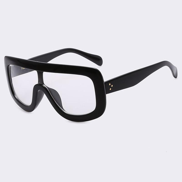 Square Vintage Big Frame Sun Glasses