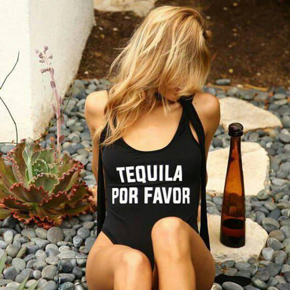 Tequila Por Favor Bodysuit One Piece