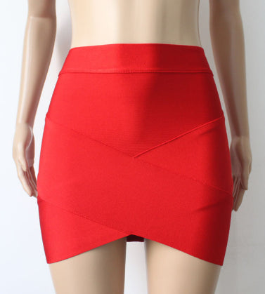Wrap Pencil Bandage Skirt