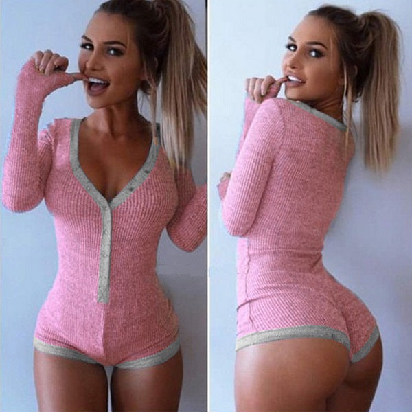 Two Toned Booty Pajamas