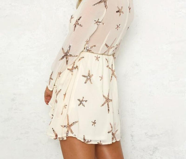 Sequin Star Fish Dress