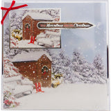 Hunkydory Snow is Falling Luxury A4 Topper Set