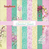 "ScrapBerry's Cherished Jewels Paper Pack 6""X6"" 24/Pkg"