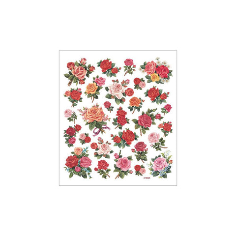 Sticker King-Multicolored Stickers - Classic Roses