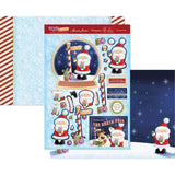 Hunkydory Cute Christmas A4 Topper Set - The North Pole