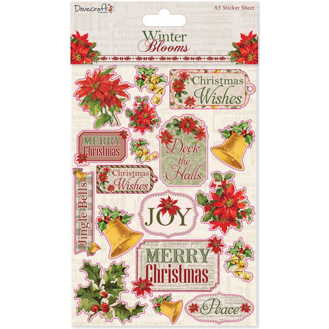 Dovecraft Winter Blooms Stickers