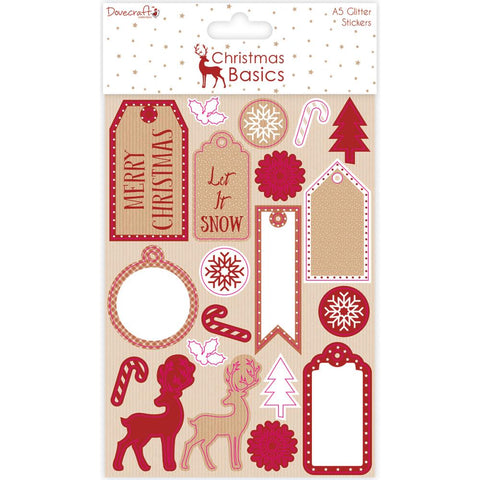 Dovecraft Christmas Basics Stickers
